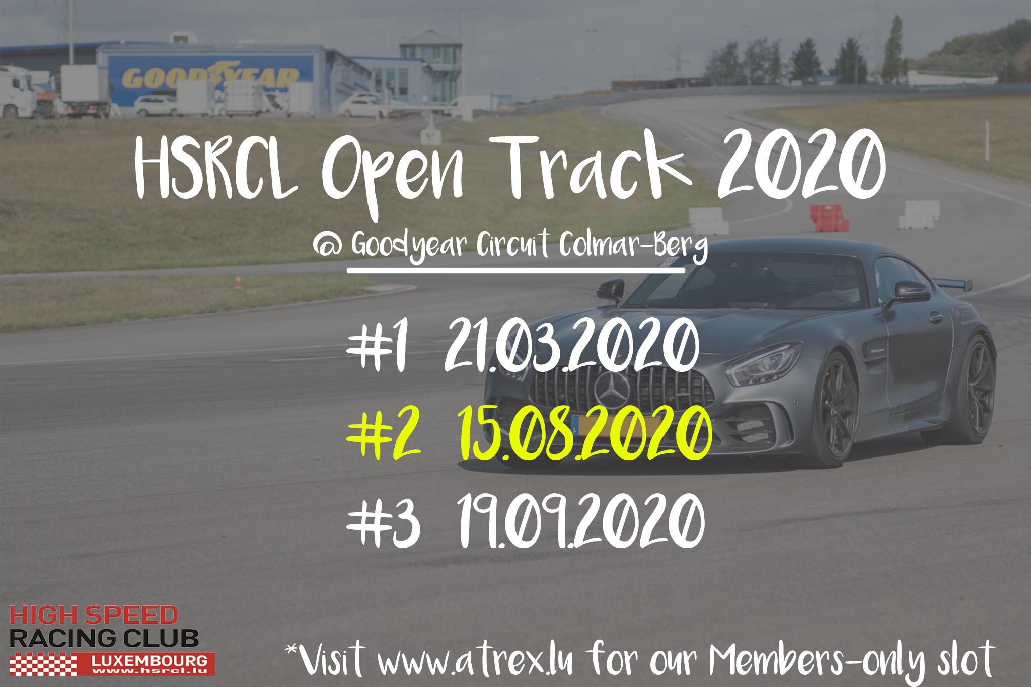 HSRCL Trackday #2 [ATREX SLOT] -SUSPENDED-