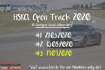 HSRCL Trackday #3 [ATREX SLOT]