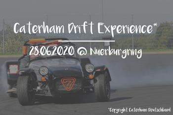 Caterham Drift Experience @NBR  -temporarily suspended-
