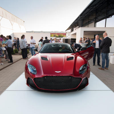 Aston Martin DBS Superleggera presentation